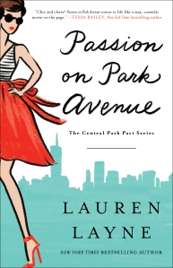 PASSION ON PARK AVENUE cover